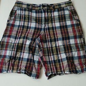 Polo Ralph Lauren Plaid Shorts Size 14